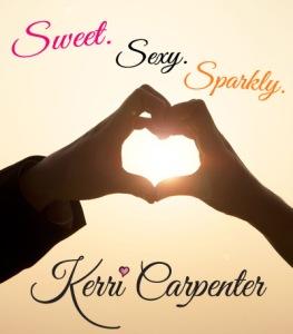 Sweet. Sexy. Sparkly. Author Kerri Carpenter